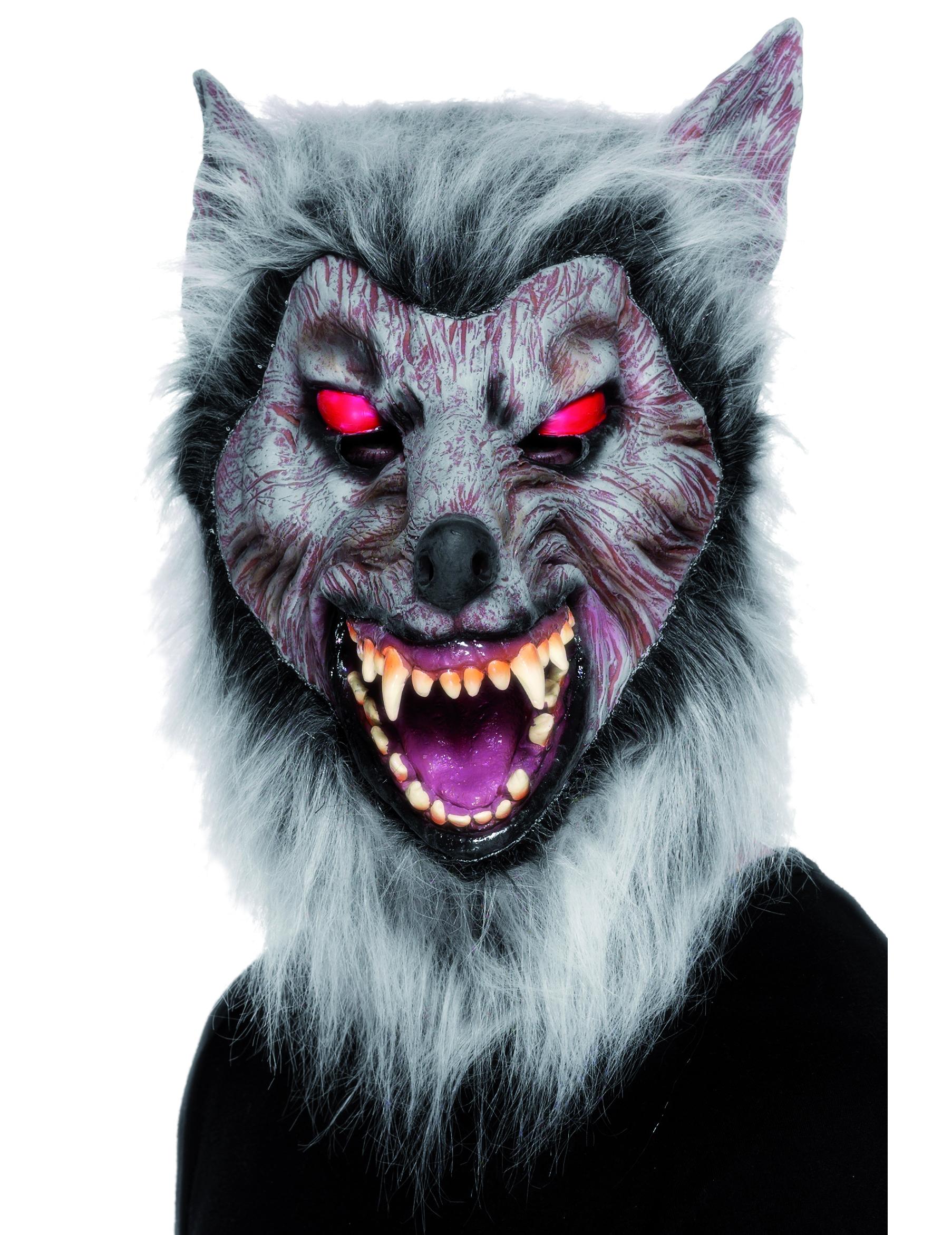 Masque loup garou - Masque de loup a fabriquer ...