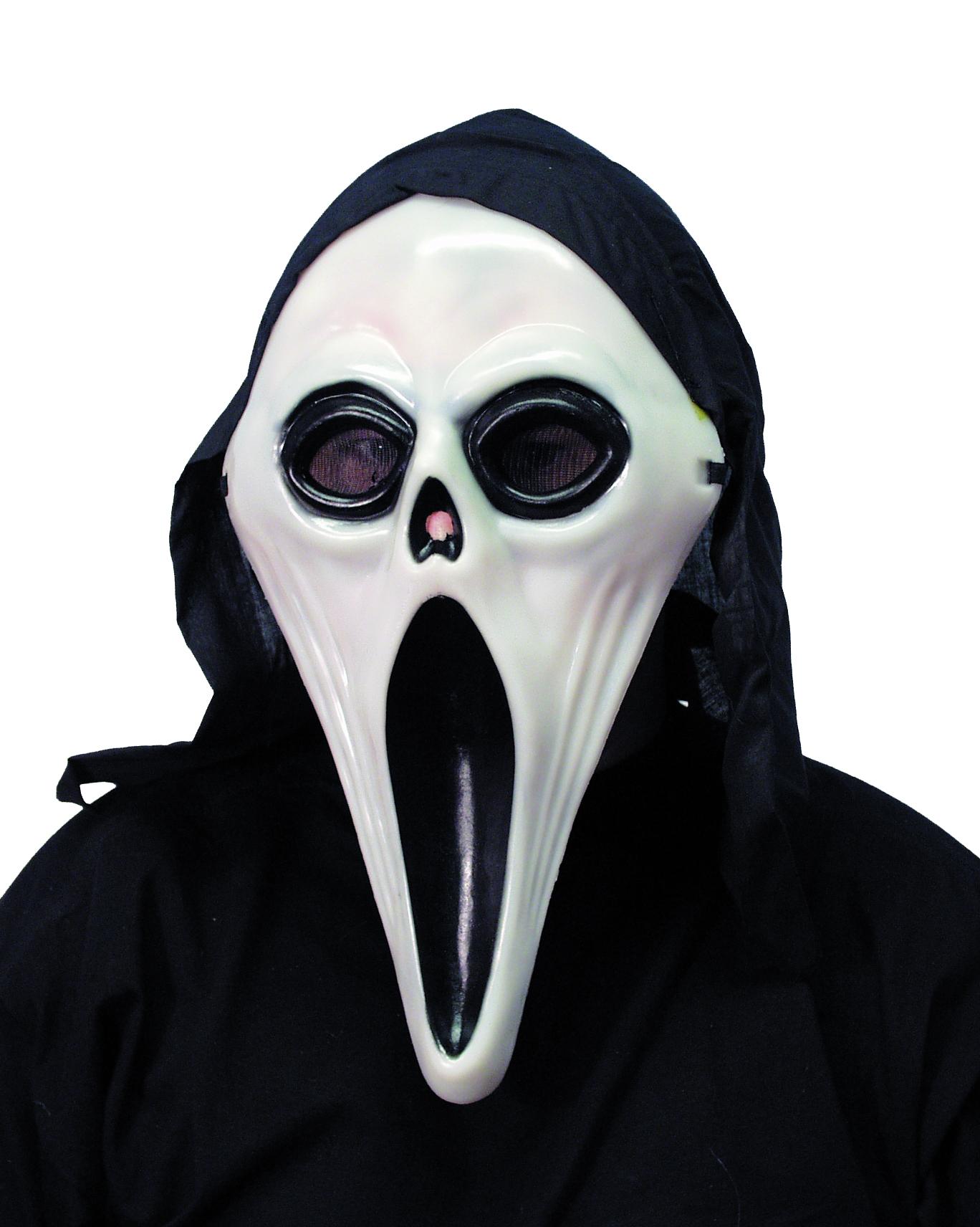 Masque assassin homme halloween d coration anniversaire for Decorer un masque blanc