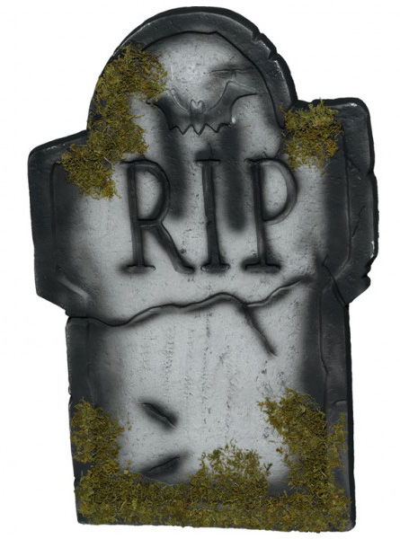 D coration pierre tombale rip halloween - Pierre tombale halloween ...
