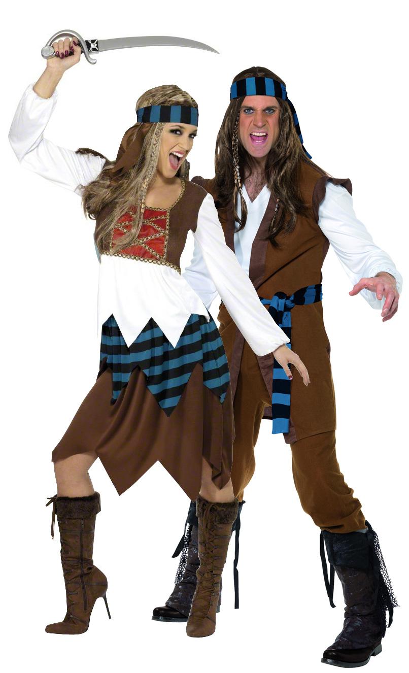 D guisement couple pirates d coration anniversaire et - Theme de deguisement ...