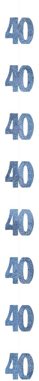 D Coration Suspendue Age 40 Ans D Coration Anniversaire