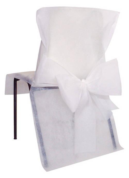 10 housses de chaise blanche d coration anniversaire et f tes th me sur vegaoo party. Black Bedroom Furniture Sets. Home Design Ideas