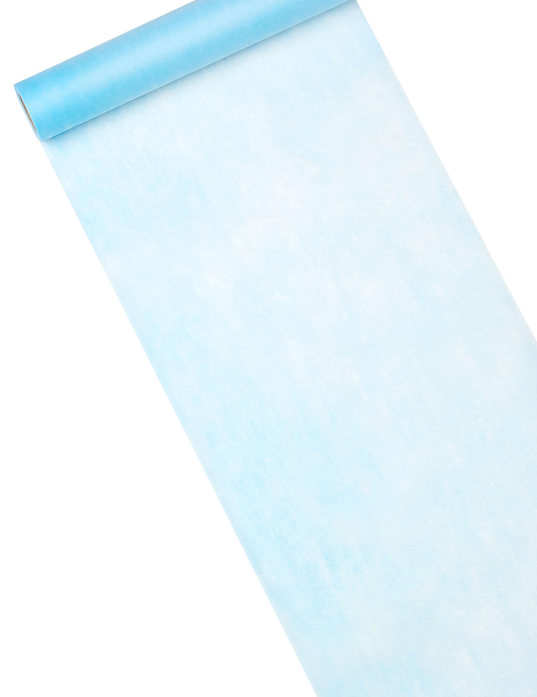 Chemin De Table Bleu Clair 10 M De Longueur D Coration