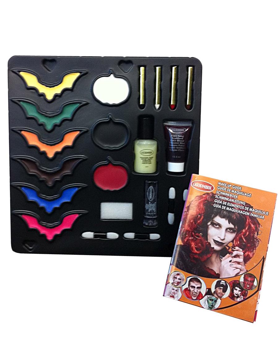 palette de maquillage et accessoires halloween d coration anniversaire et f tes th me sur. Black Bedroom Furniture Sets. Home Design Ideas