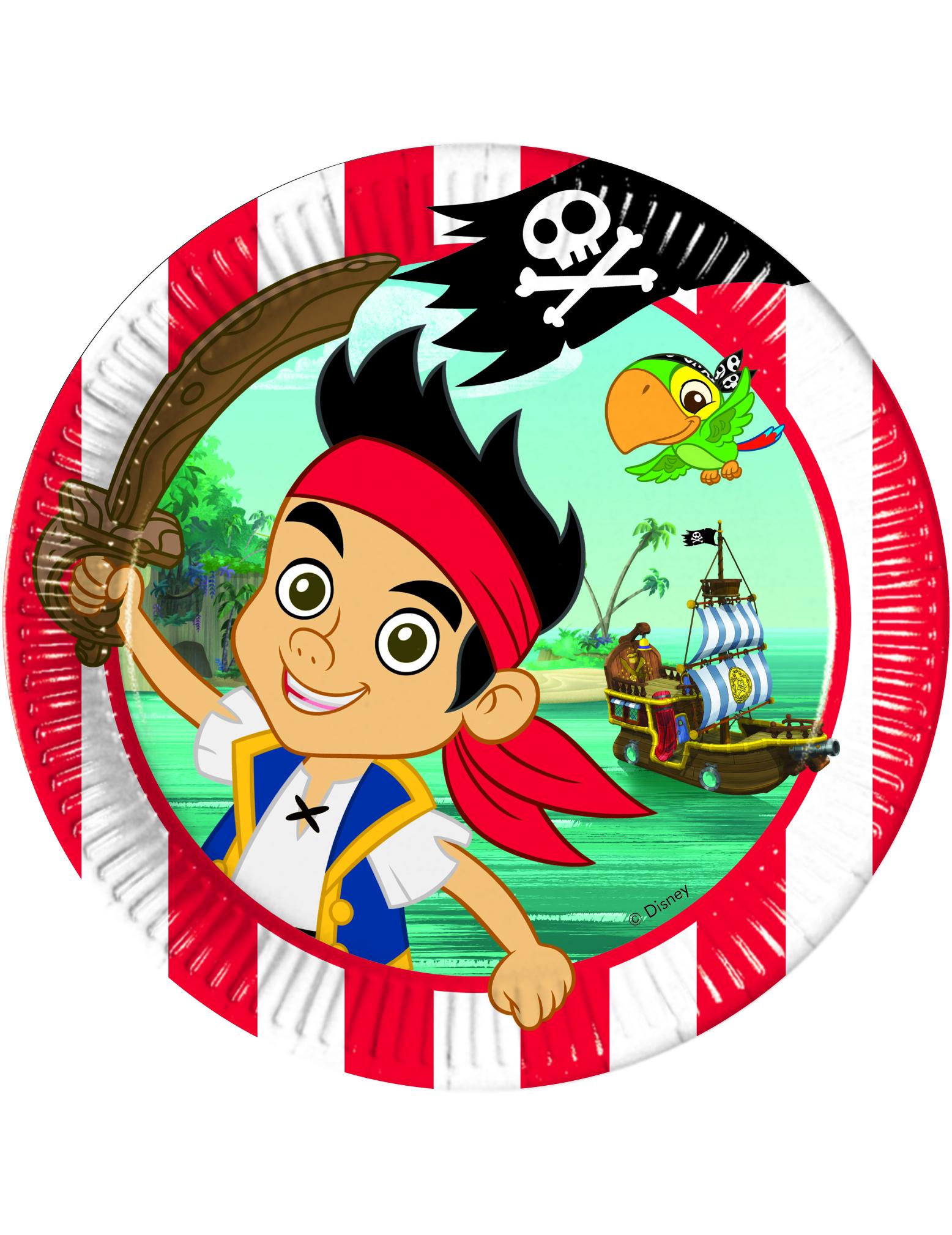 Maxi pack anniversaire jake et les pirates d coration - Jake et les pirates ...