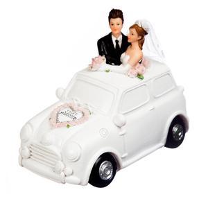 tirelire couple mari s en voiture d coration anniversaire et f tes th me sur vegaoo party. Black Bedroom Furniture Sets. Home Design Ideas