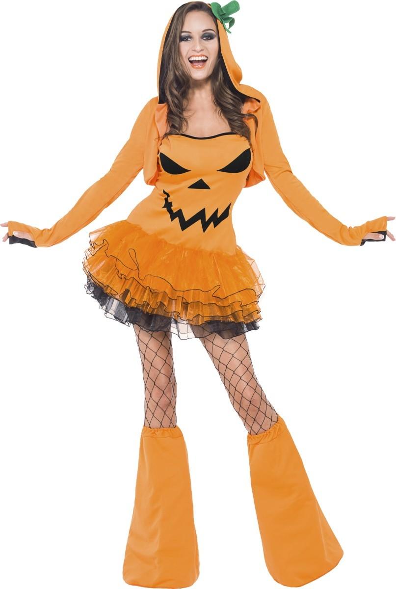 D guisement citrouille sexy femme halloween d coration anniversaire et f tes th me sur vegaoo - Deguisement de citrouille ...