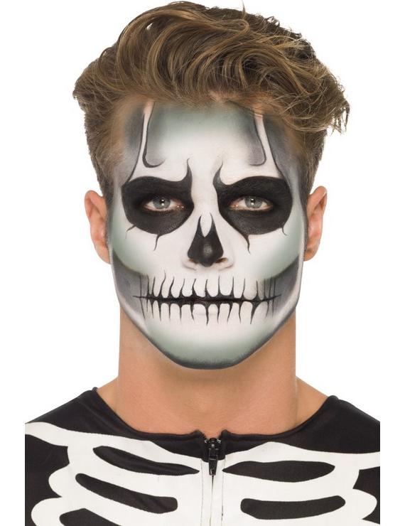 Kit maquillage squelette phosphorescent adulte halloween for Comidee maquillage halloween adulte
