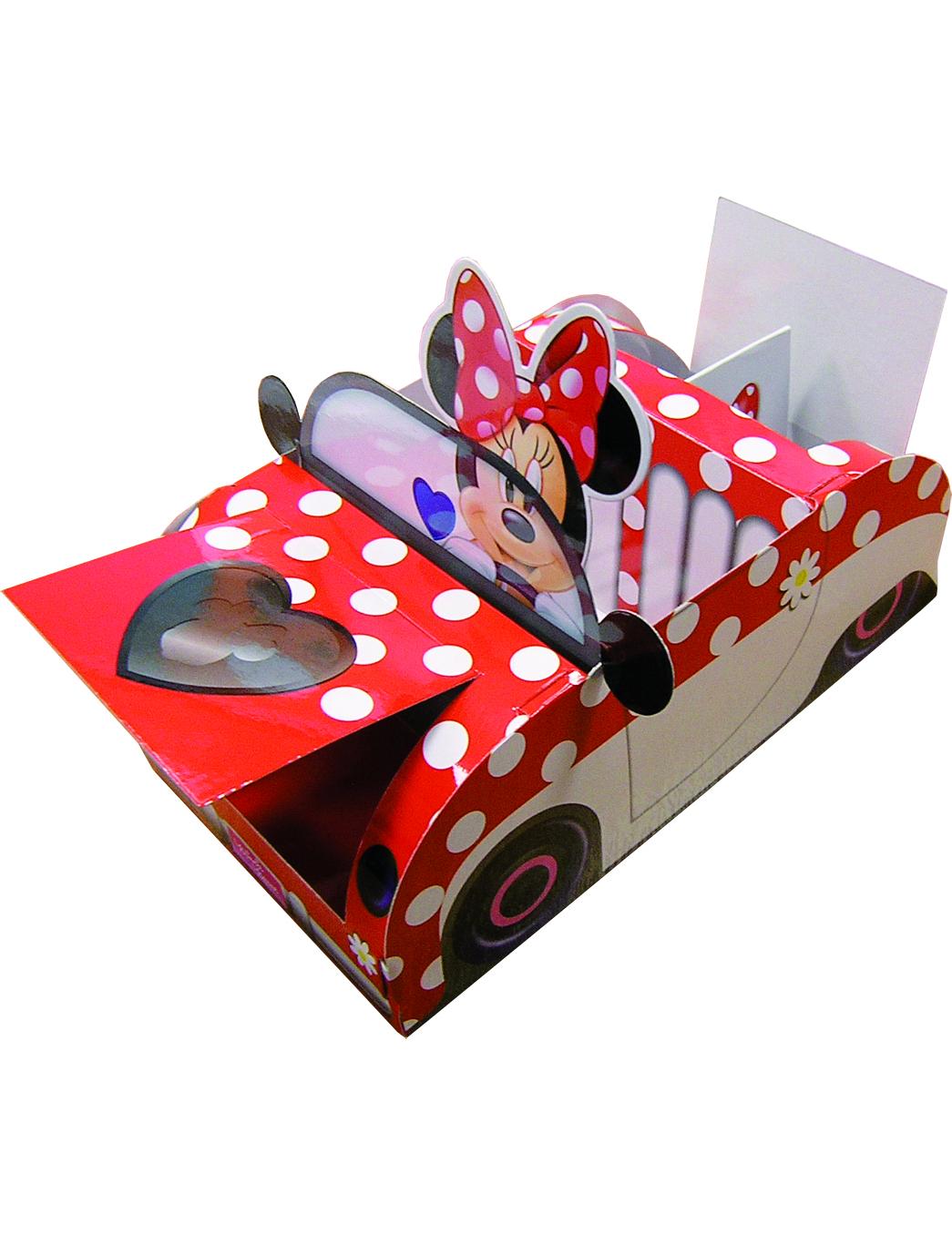 Boite carton minnie d coration anniversaire et f tes for Decoration boite carton