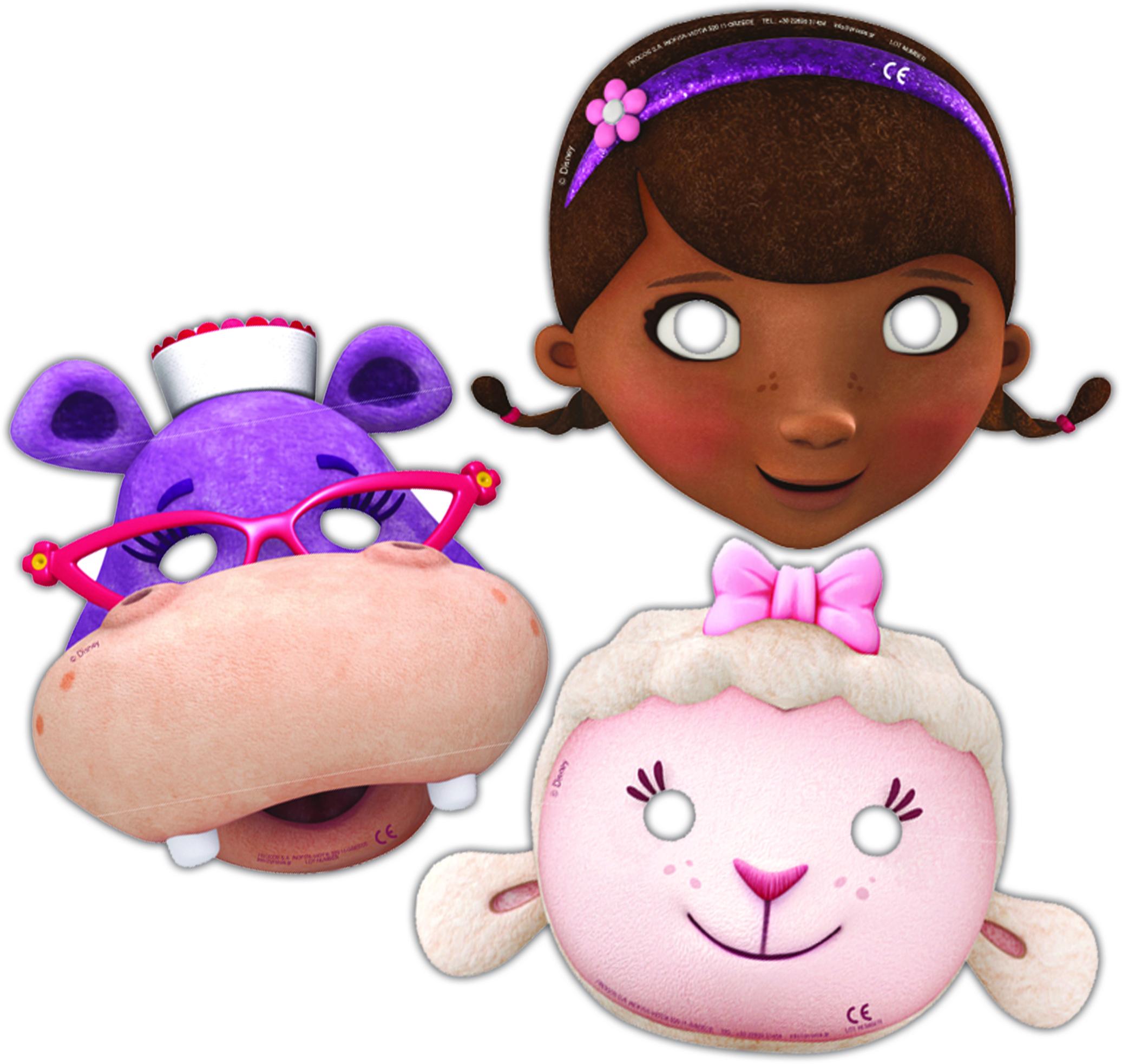 Masques docteur la peluche vegaooparty accessoires de f te anniversaire - Toufy docteur la peluche ...