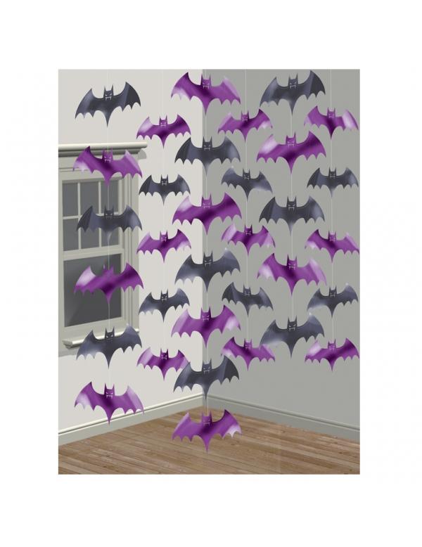 D corations suspendre chauve souris - Deco halloween chauve souris ...