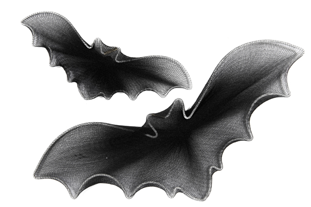 Set d coration chauve souris halloween d coration - Deco halloween chauve souris ...
