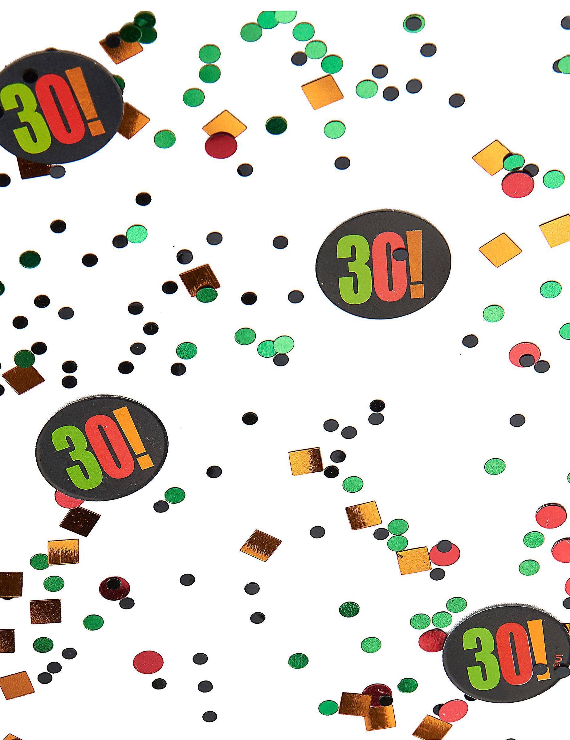 Confettis 30 ans d coration anniversaire et f tes for Decoration 30 ans