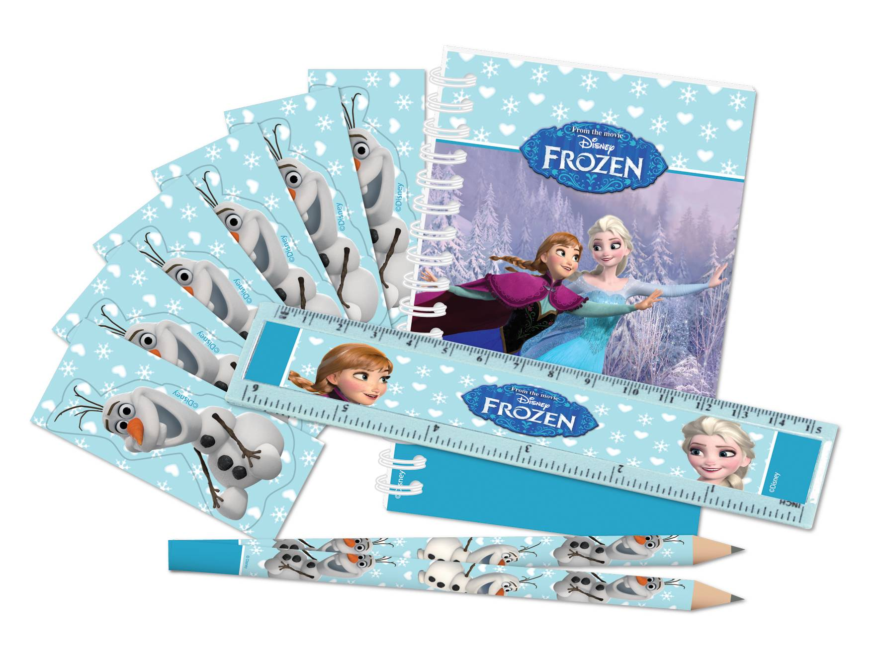 Pack de papeterie la reine des neiges d coration for Pack diagral anniversaire