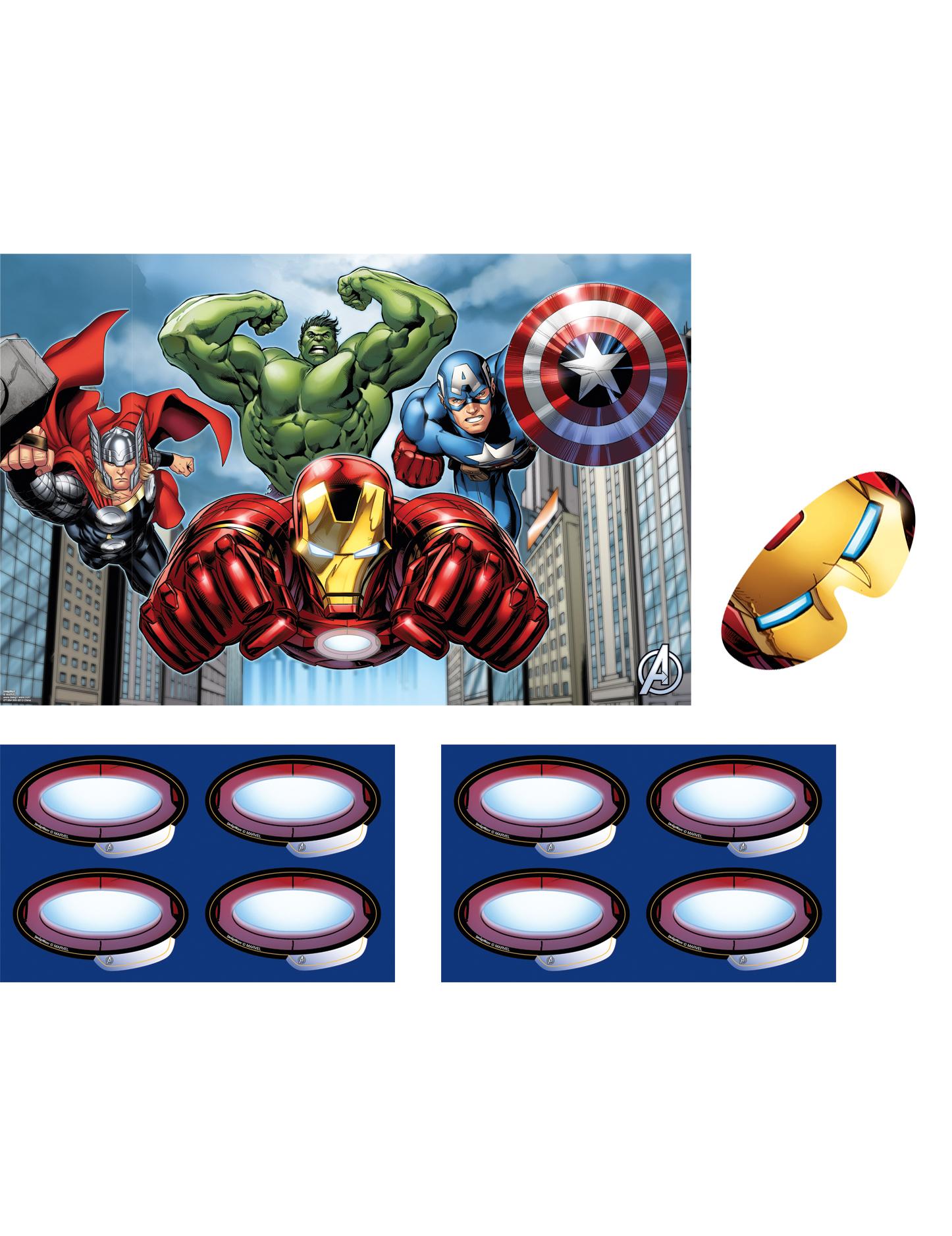 Jeu Avengers ™, décoration anniversaire et fêtes à thème ...