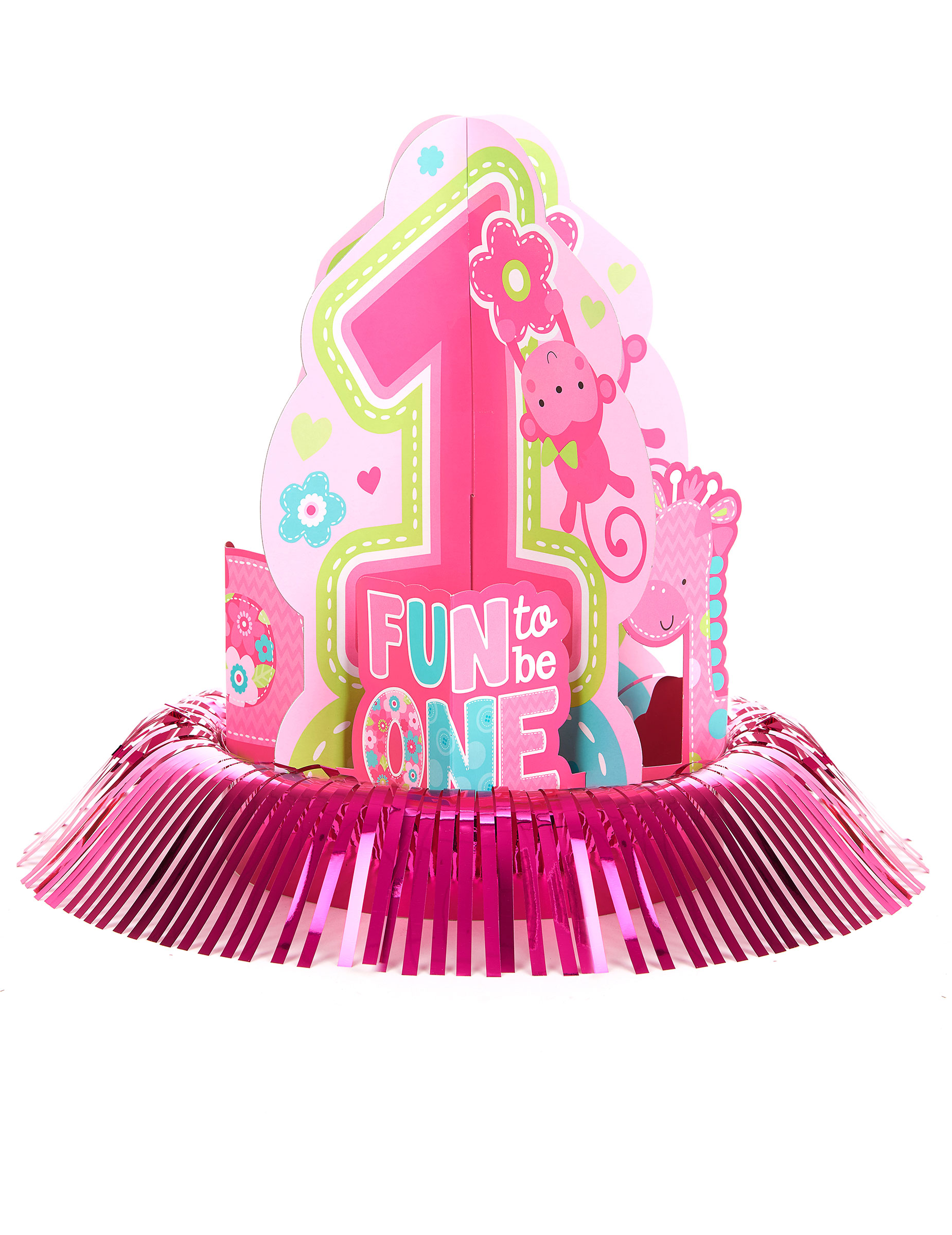 Kit De D Coration Centre De Table 1 An Fille D Coration Anniversaire Et F Tes Th Me Sur