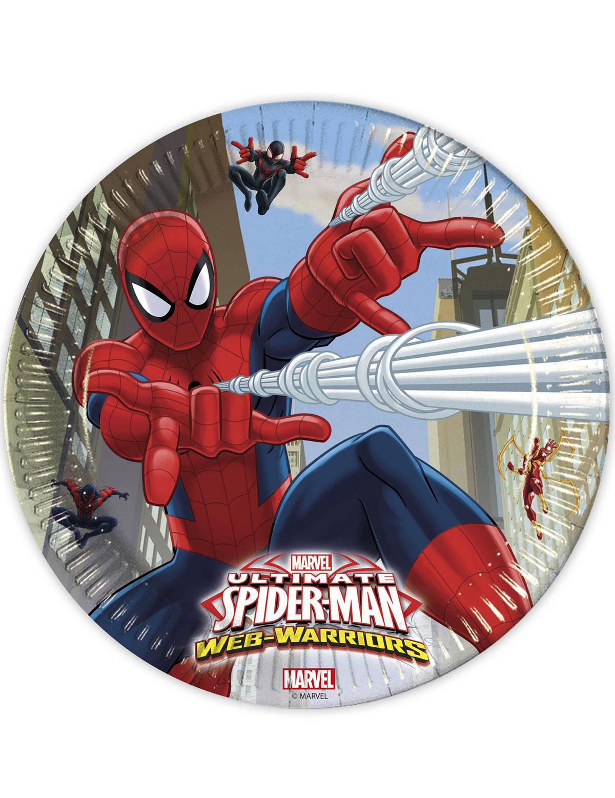 Maxi pack anniversaire spiderman d coration anniversaire et f tes th me sur vegaoo party - Deco anniversaire spiderman ...