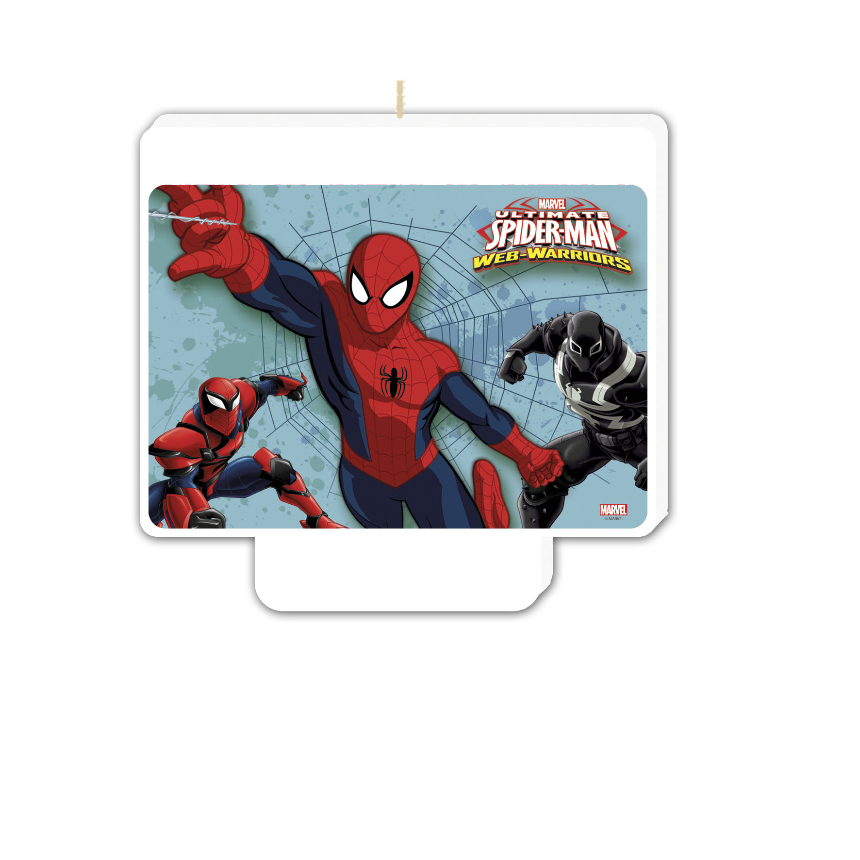 Bougie d 39 anniversaire spiderman d coration anniversaire - Decoration spiderman pour anniversaire ...
