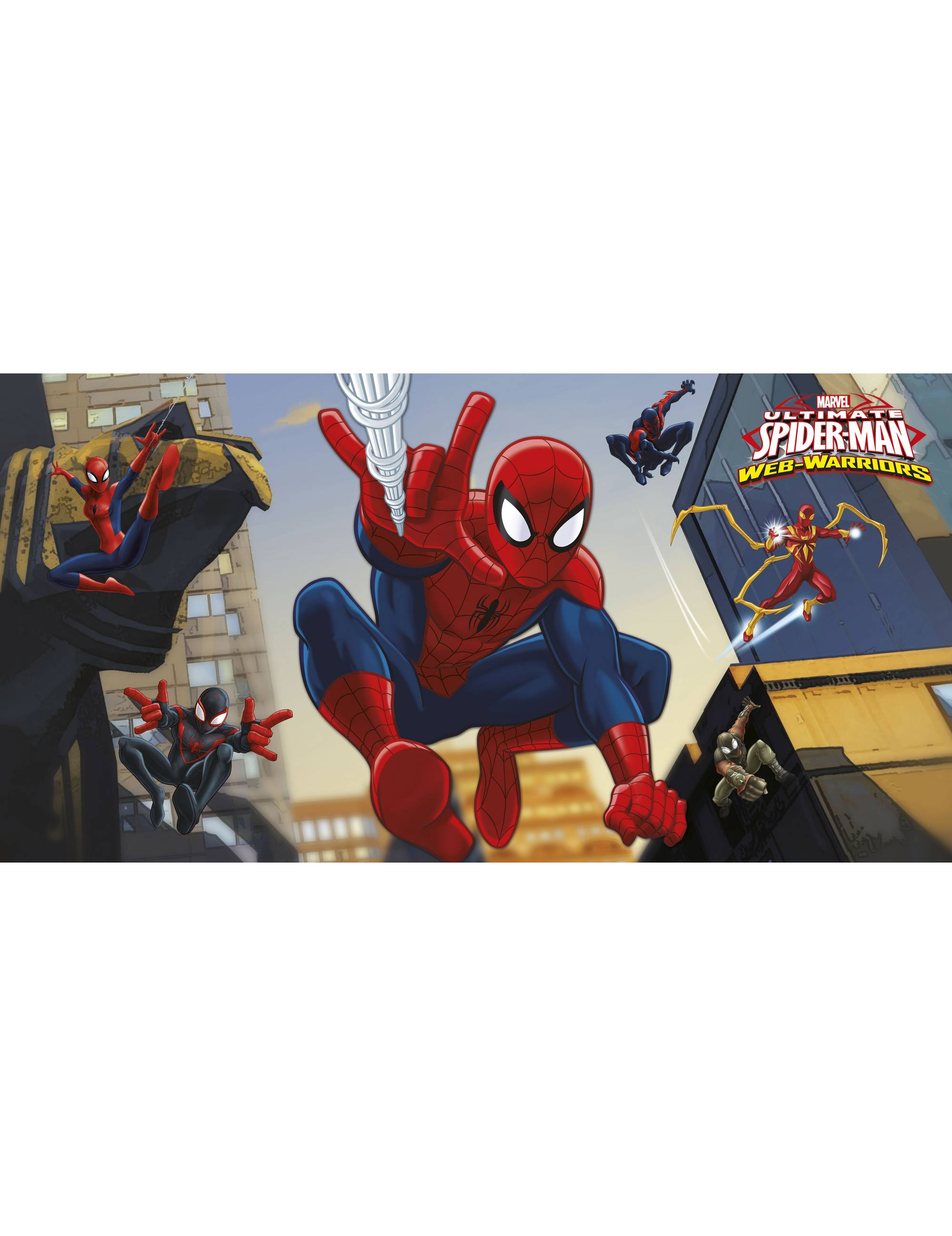 D coration murale spiderman 150 x 177 cm d coration anniversaire et f tes th me sur vegaoo - Deco anniversaire spiderman ...