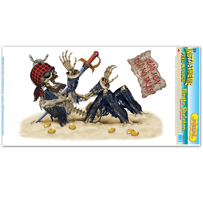 D Coration Squelette Pirate D Coration Anniversaire Et