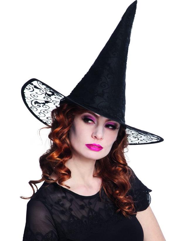 chapeau sorci re dentelle adulte halloween d coration anniversaire et f tes th me sur vegaoo. Black Bedroom Furniture Sets. Home Design Ideas