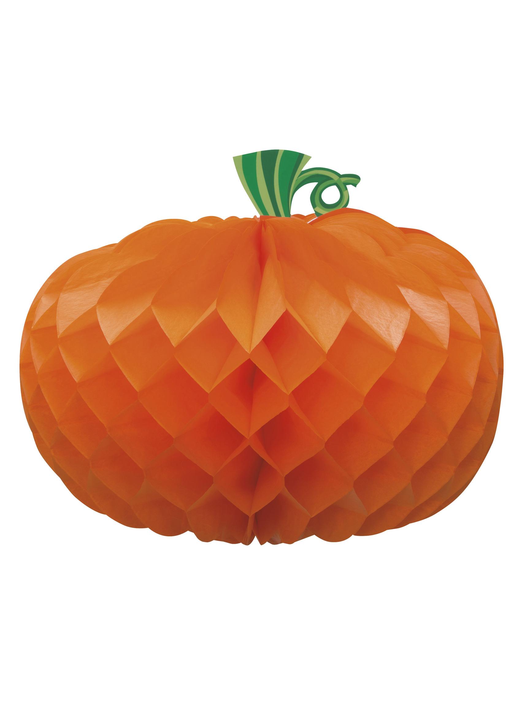 Centre de table papier citrouille halloween d coration anniversaire et f tes th me sur vegaoo - Citrouille halloween en papier ...