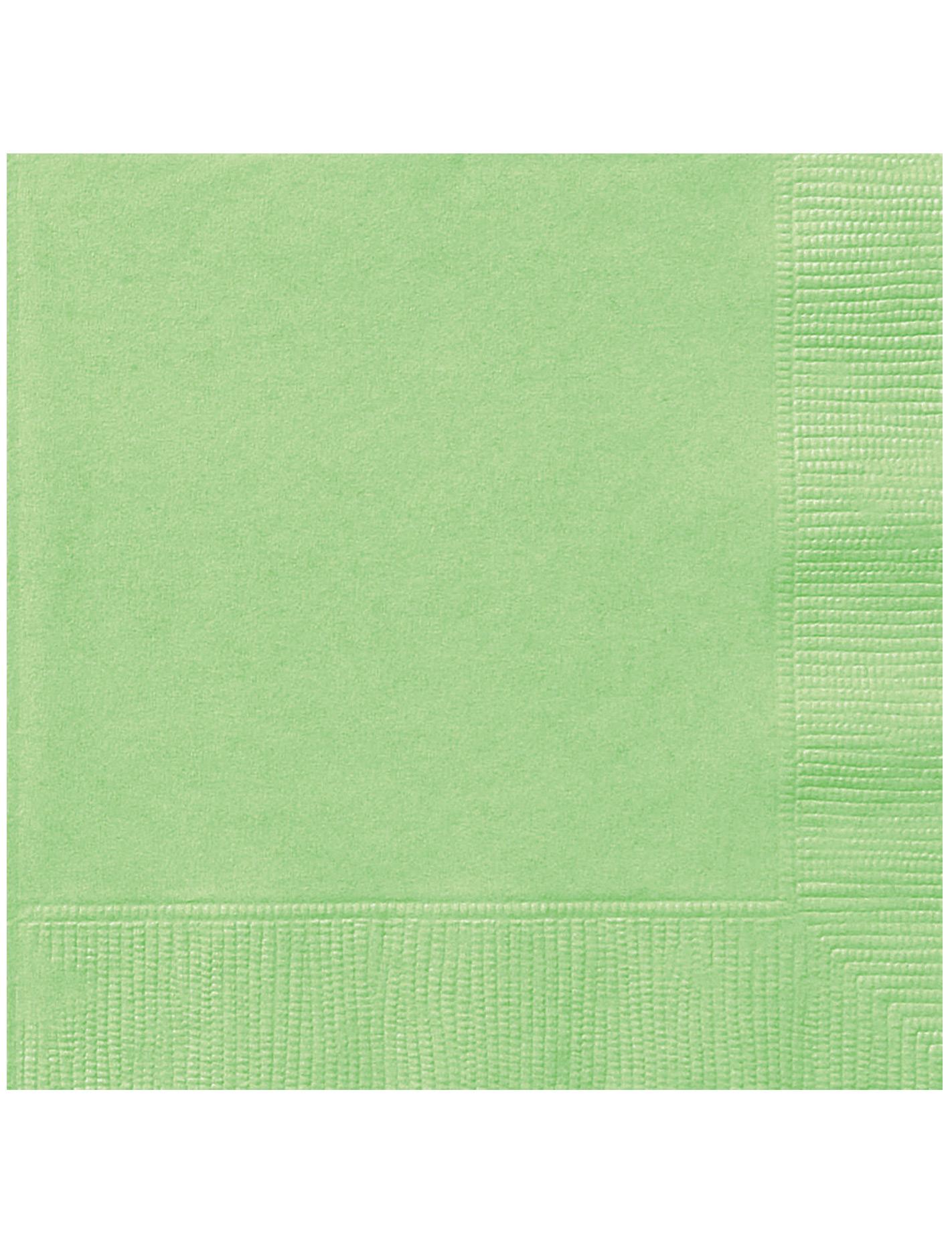 20 serviettes en papier vert pomme 33 x 33 cm d coration anniversaire et f tes th me sur - Serviette en papier vert fonce ...