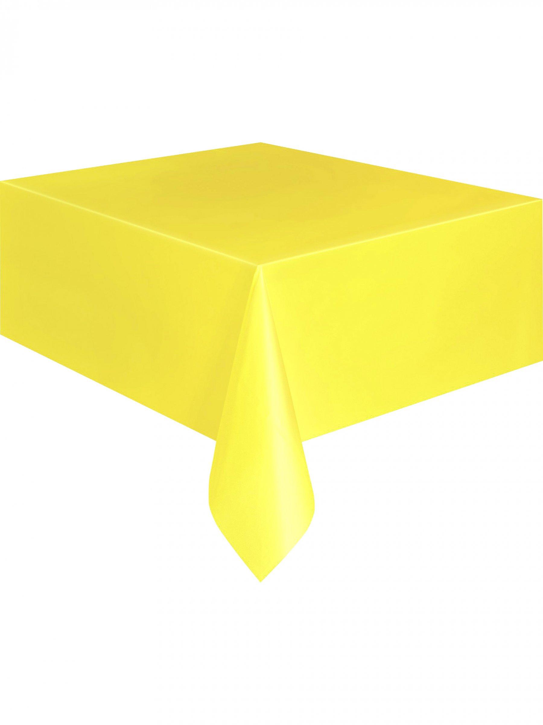 nappe jaune doux en plastique 137 x 274 cm d coration anniversaire et f tes th me sur vegaoo. Black Bedroom Furniture Sets. Home Design Ideas