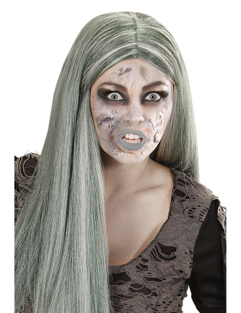 Flacon maquillage peau zombie adulte halloween d coration - Maquillage zombie simple ...