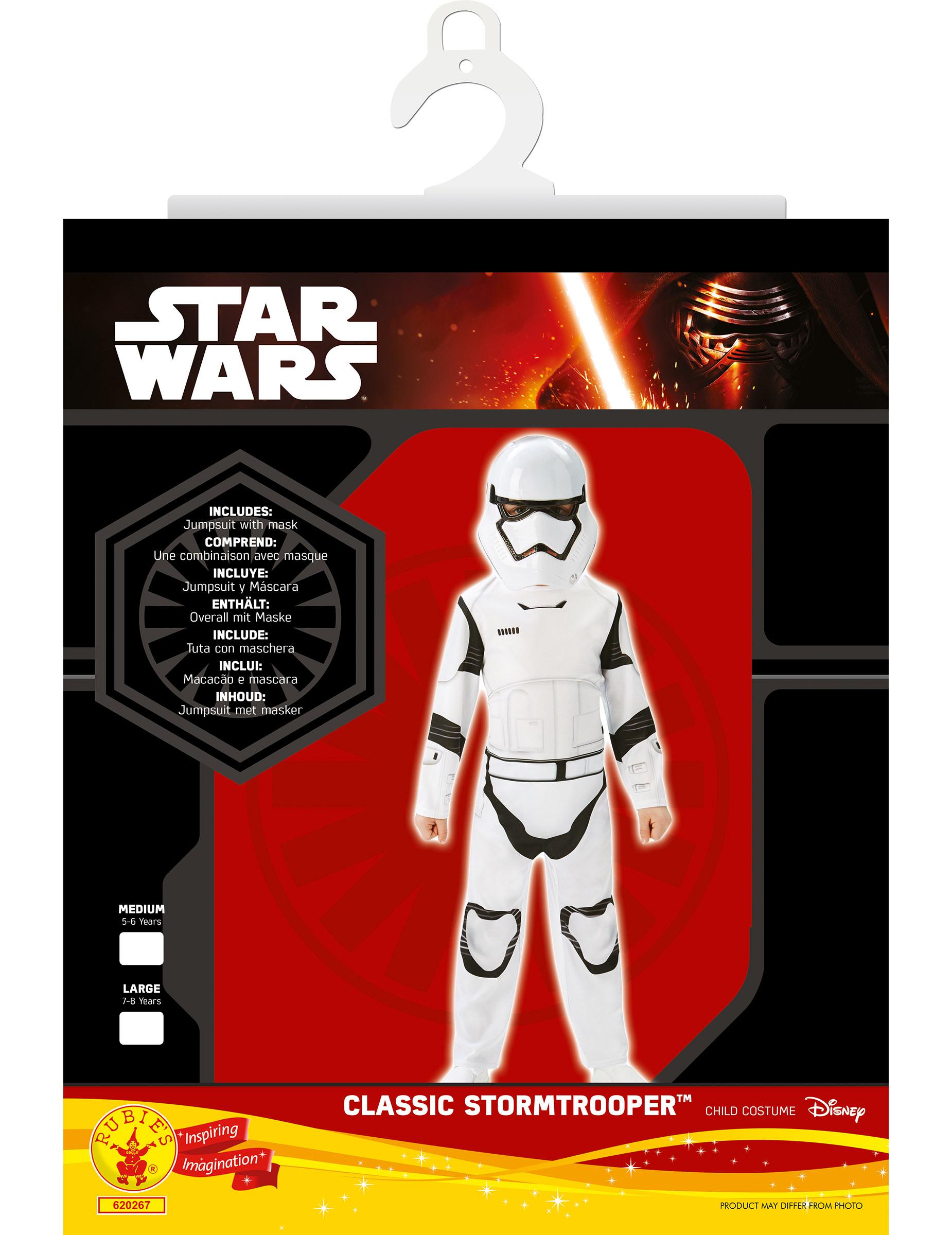 d guisement classique stormtrooper star wars vii. Black Bedroom Furniture Sets. Home Design Ideas