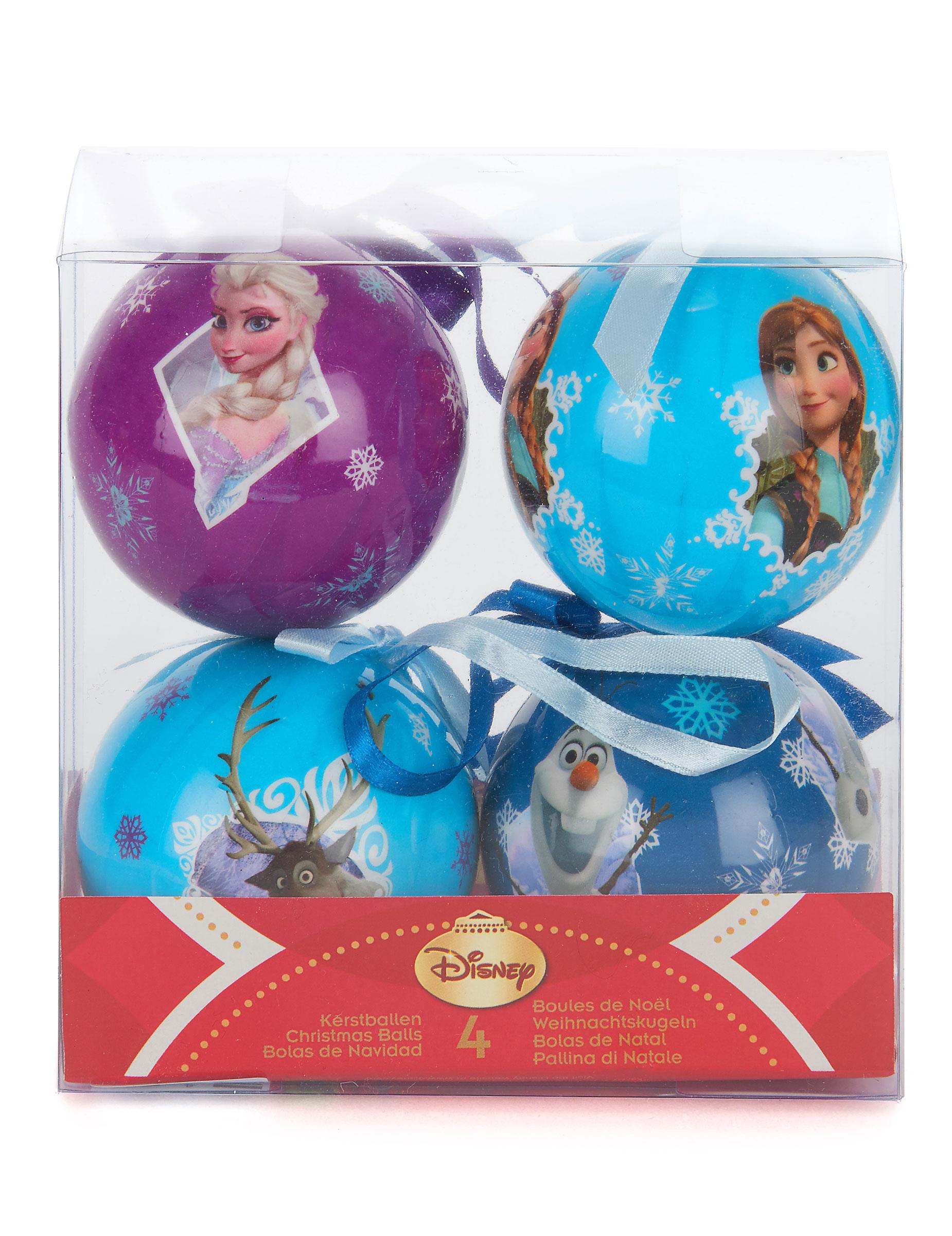 #0B9DC0 4 Boules La Reine Des Neiges™ 7 5 Cm Noël Décoration  6015 decoration de noel reine des neiges 1850x2400 px @ aertt.com