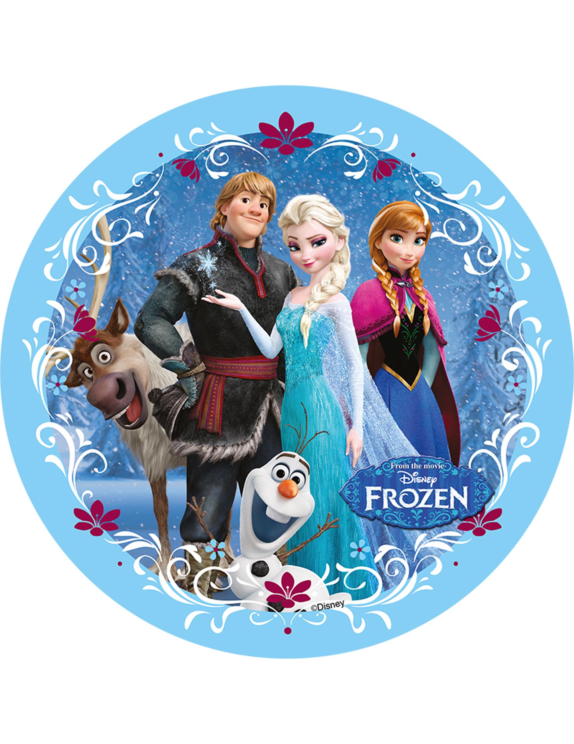 #167EB5 Disque Azyme Le Reine Des Neiges™ 20.5 Cm Décoration  6015 decoration de noel reine des neiges 1850x2400 px @ aertt.com