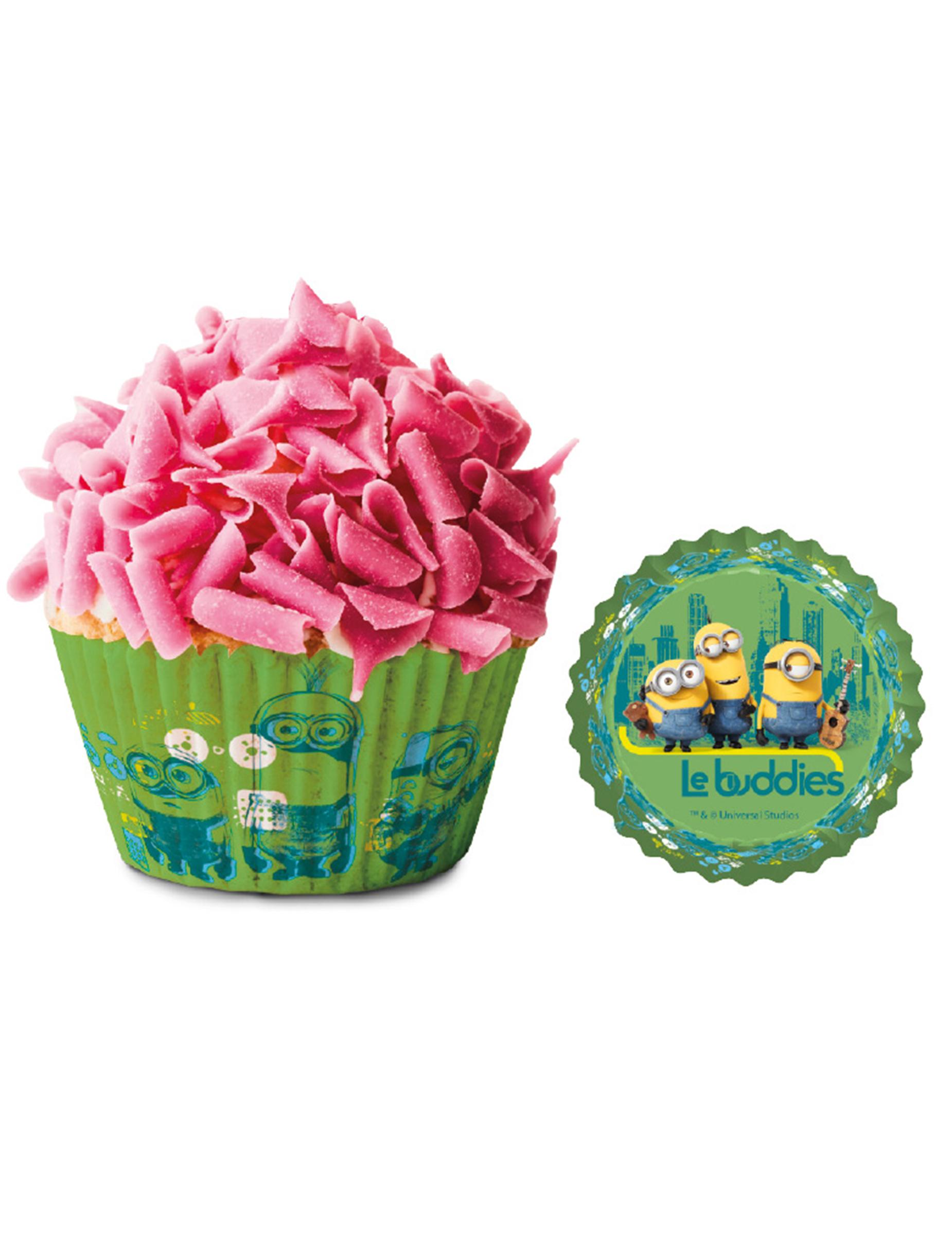 moules cupcake minions d coration anniversaire et. Black Bedroom Furniture Sets. Home Design Ideas