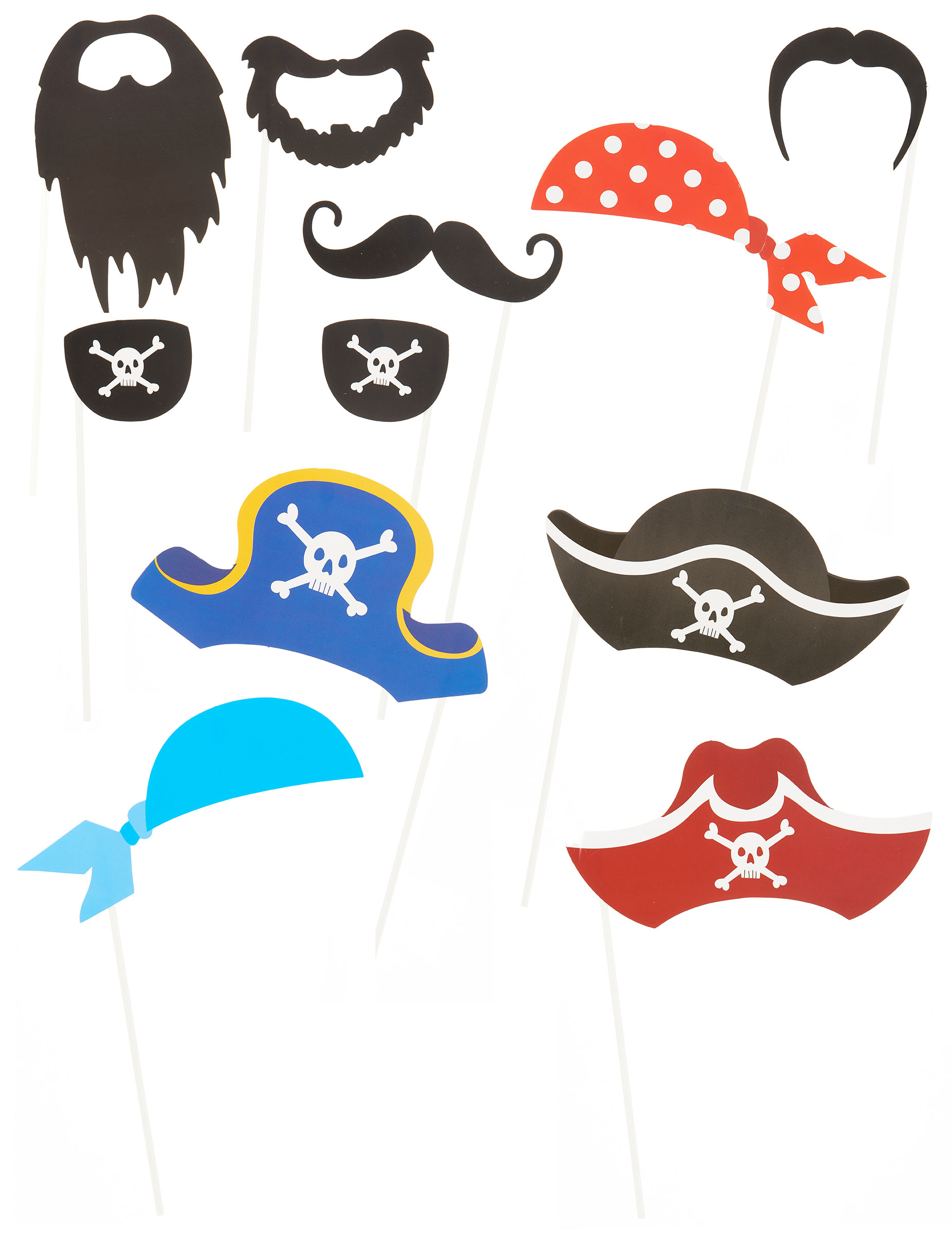 pack photobooth pirate d coration anniversaire et f tes th me sur vegaoo party. Black Bedroom Furniture Sets. Home Design Ideas