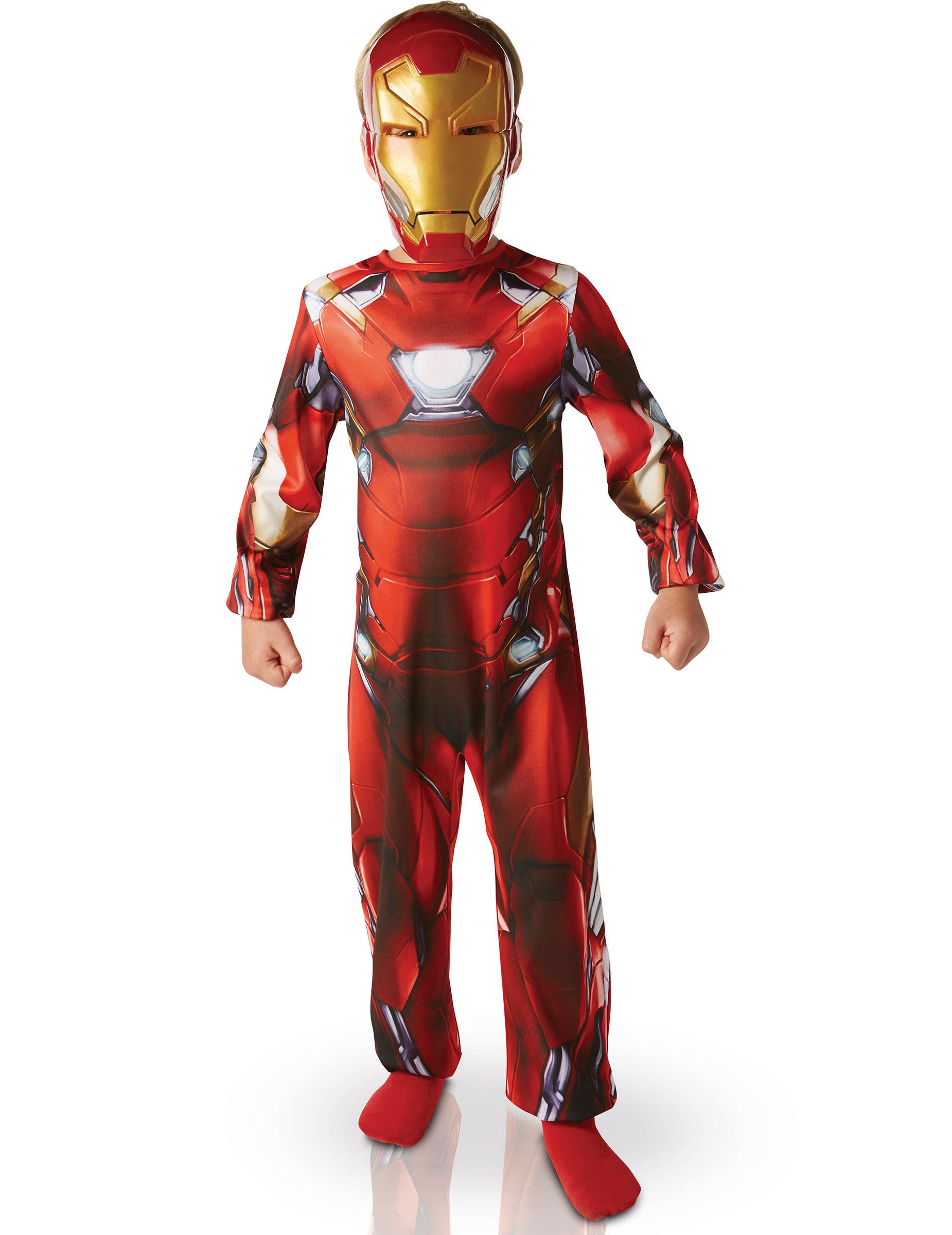 Déguisement Classique Iron Man™ garçon  Civil War, décoration anniversaire e