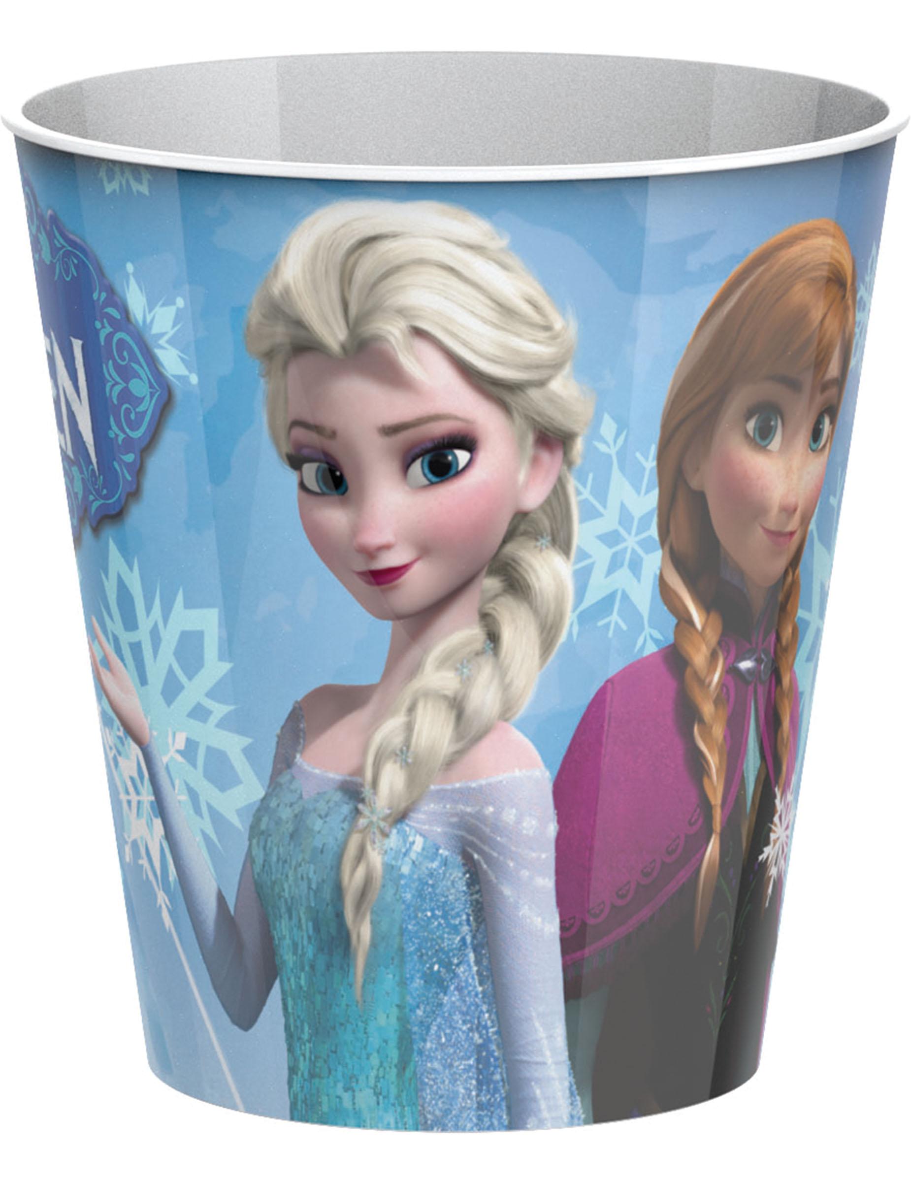 Verre en plastique la reine des neiges 25 cl d coration anniversaire et f tes th me sur - Bonhomme de neige verre plastique ...