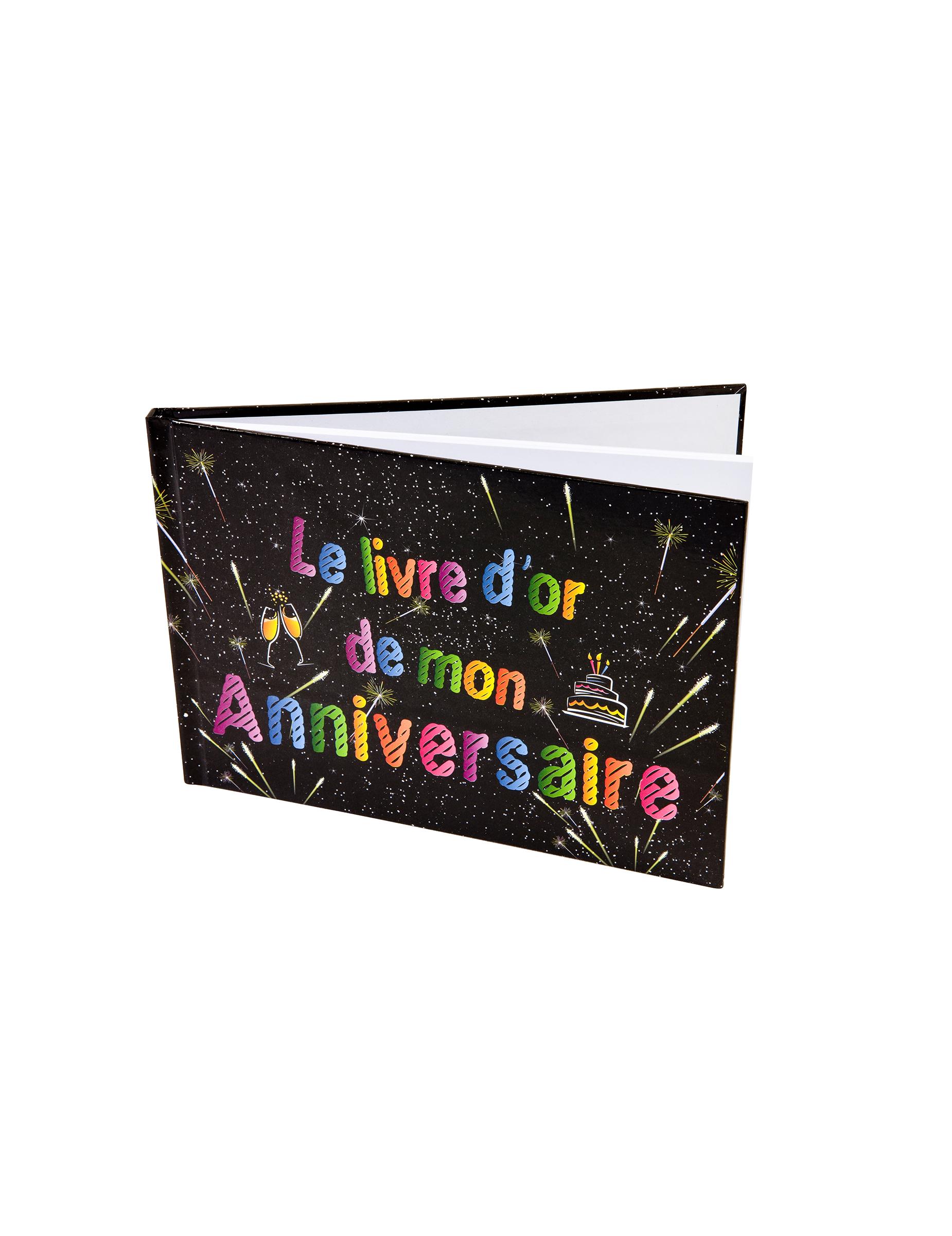 livre d 39 or anniversaire feux d 39 artifice 21 5 x 15 5 cm d coration anniversaire et f tes th me. Black Bedroom Furniture Sets. Home Design Ideas