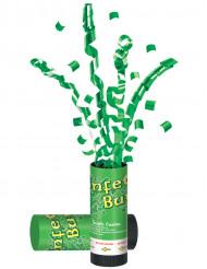 Canon à confettis verts Saint-Patrick
