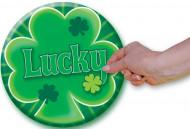 Badge humoristique customisable géant Saint-Patrick