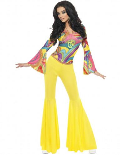 D guisement ann es 70 hippie femme d coration anniversaire et f tes th me sur vegaoo party - Mode hippie femme annee 70 ...