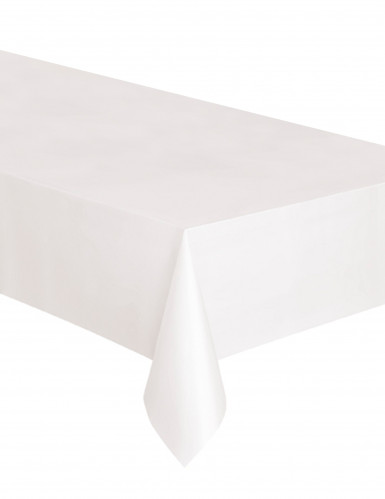 nappe rectangulaire en plastique blanche d coration. Black Bedroom Furniture Sets. Home Design Ideas