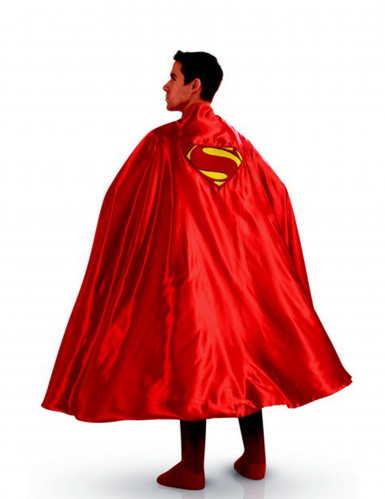Cape Superman Luxe adulte Taille Unique