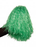 Pompon vert m�tallique