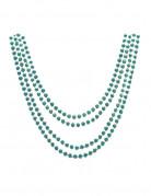 4 colliers verts metalis�s