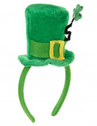 Mini chapeau avec trèfle Saint Patrick