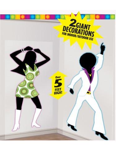 D corations murales disco - Decors muraux exterieurs ...
