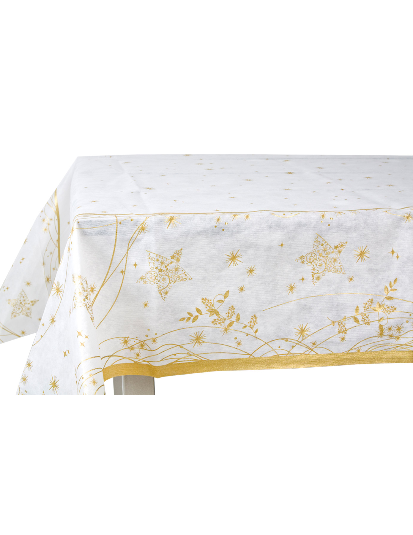 Nappe no l dor - Nappe de table pour noel ...