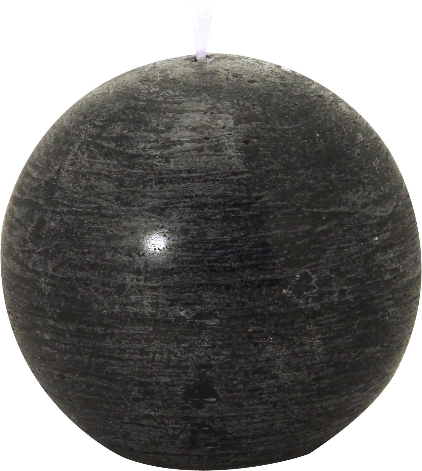grande bougie boule rustique noir d coration anniversaire et f tes th me sur vegaoo party. Black Bedroom Furniture Sets. Home Design Ideas