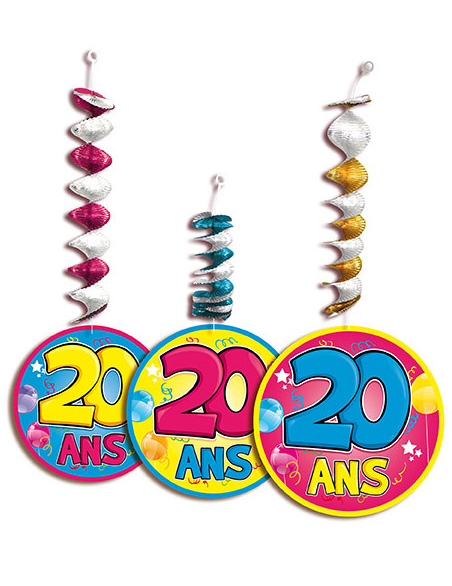3 d corations suspendre accord on 20 ans d coration for Decoration 20 ans