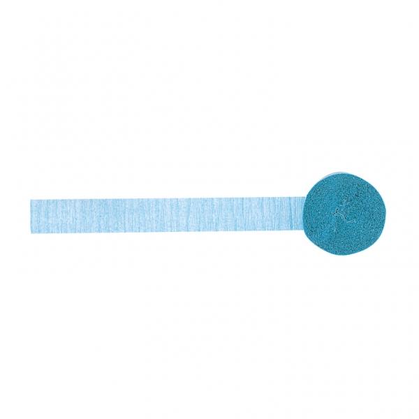 rouleau papier cr pon bleu clair d coration anniversaire et f tes th me sur vegaoo party. Black Bedroom Furniture Sets. Home Design Ideas